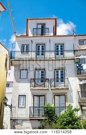 Old house in the Alfama district