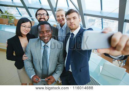 Selfie after meeting