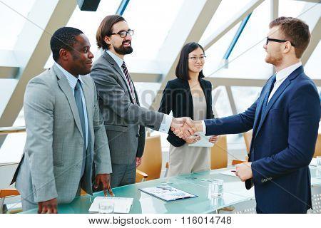 Handshaking after negotiation
