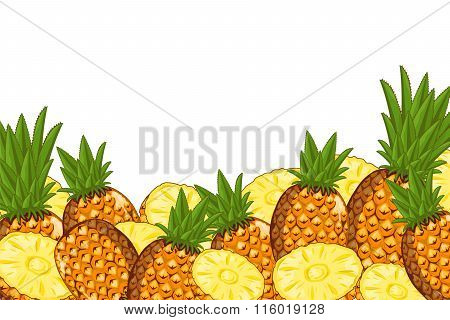 Pineapple composition Isolated