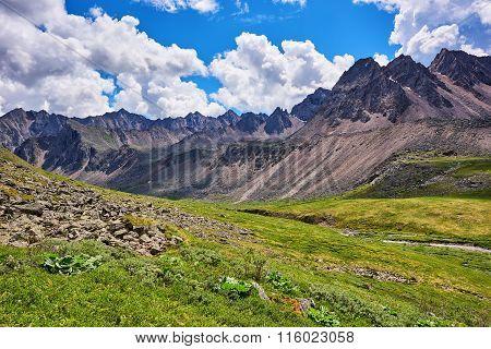 Mountain Tundra Ridge