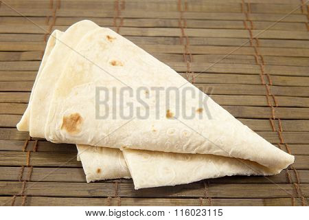 Pita Bread Isolated
