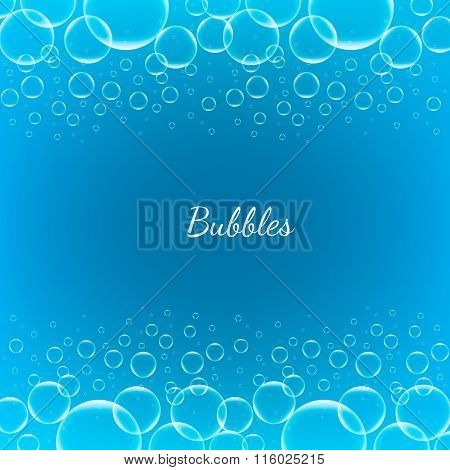 Abstract Creative concept vector shiny transparent bubbles for Web and Mobile Applications isolated