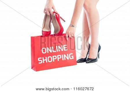 Online Shopping For Woman Shoes.