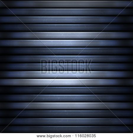 Abstract Blue Stripes