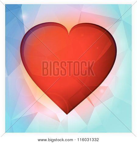 Love Heart Square Banner