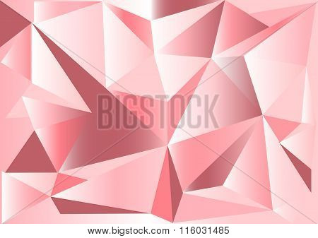 Low poly style vector, pink low poly design, low poly style illustration, Abstract low poly backgrou