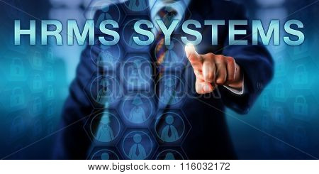 Hr Manager Pushing Hrms Systems Onscreen