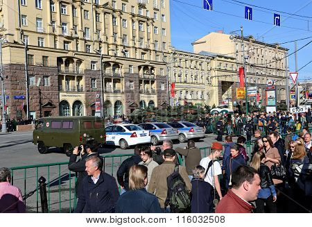 Military Parade Dedicated To Victory Day In World War Ii
