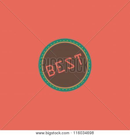 Best  Badge, Label or Sticker