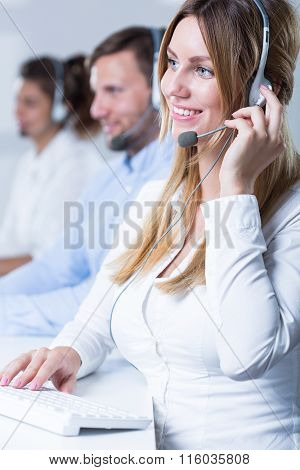 Team Of Telemarketers