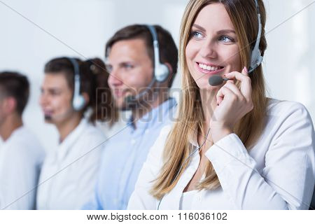Call Agent Working In Tele Service