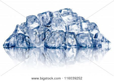 Rough Crushed Ice Heap