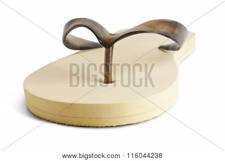 flip-flop isolated on a white background