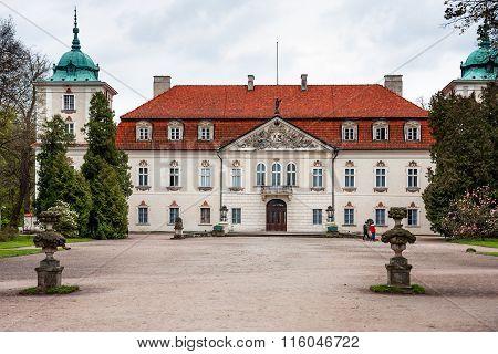 Palace Of Nieborowski In Nieborow Village