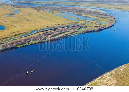 Ships On The River, Top View