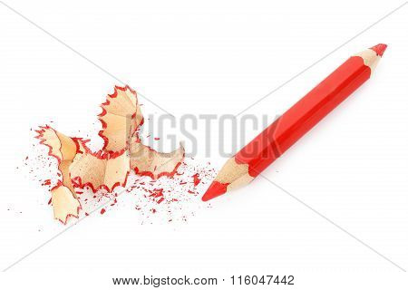 Sharpened Red Pencil