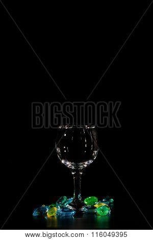 Glass And Precious Stones