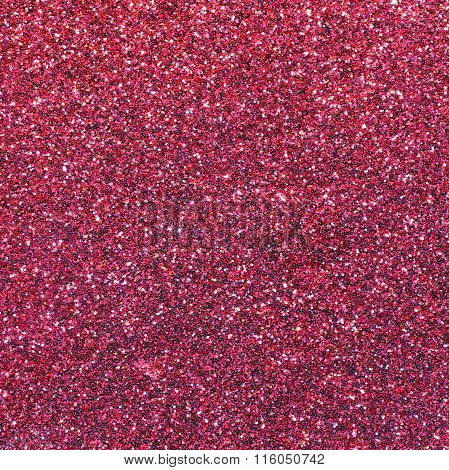 Glittering Red Background And Shimmering Shiny Texture
