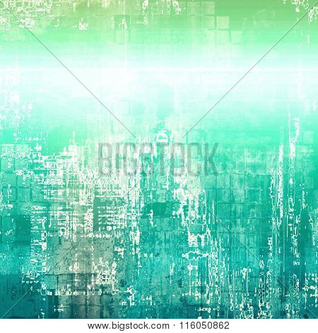 Beautiful antique vintage background. With different color patterns: blue; green; cyan; white