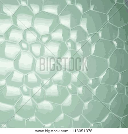 Abstract Soap Bubbles Background