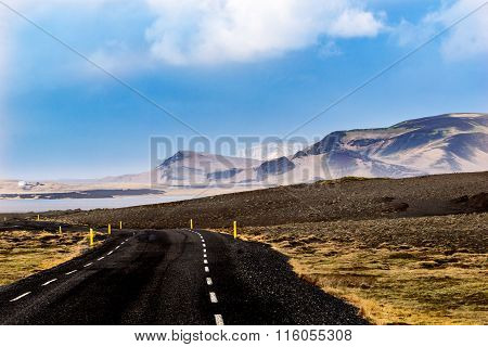 Road trough the hills
