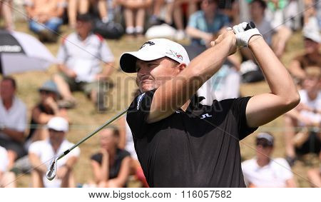 James Morrisson At The Golf French Open 2015