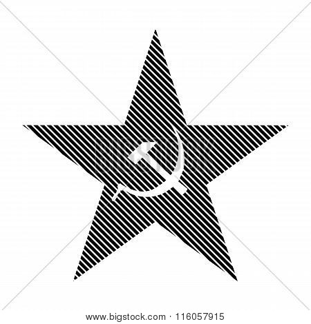 Communism Star Sign.