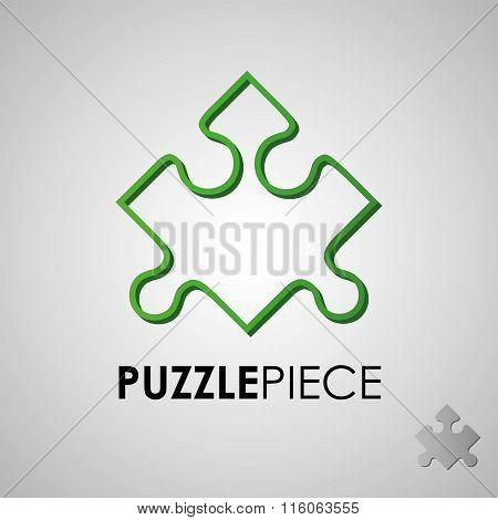 puzzles, flat puzzles, logo, puzzle design, puzzle concept