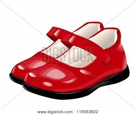 Red Shoes For Girls