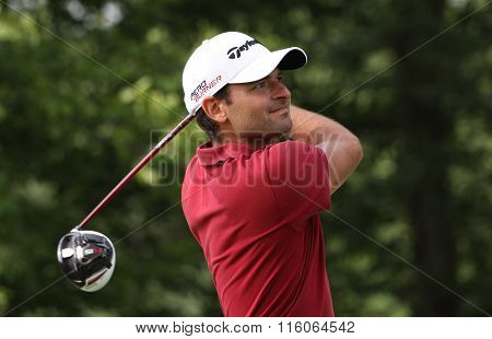 Carlos Del Morall At The Golf French Open 2015