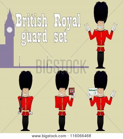 Beefeater. Guardians Set