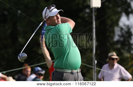 Marcus Fraser At The Golf French Open 2015