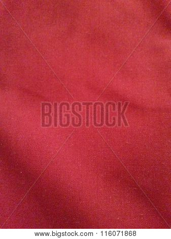 Red Fabric Surface