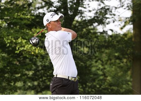 Robert Karlsson At The Golf French Open 2015