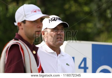 Thomas Levet At The Golf French Open 2015
