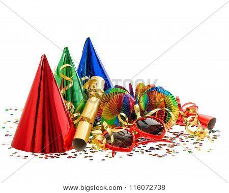 Serpentine, Garlands, Streamer, Confetti. Carnival Party Decoration