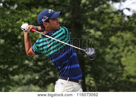 Matteo Manassero At The Golf French Open 2015