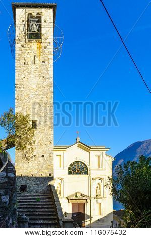 Church In Gandria, Near Lugano