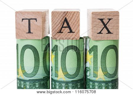 Tax Blocks Arranged On Rolled Euro Notes
