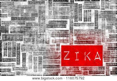 Zika Virus as a Danger Concept Art