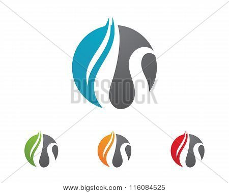 water droplet Logo
