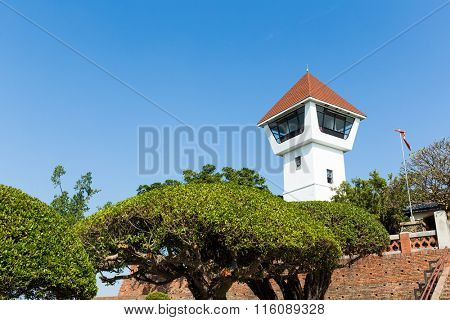 Watchtower of Fort Zeelandia at Tainan