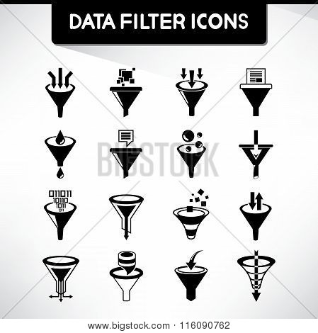 filter icons