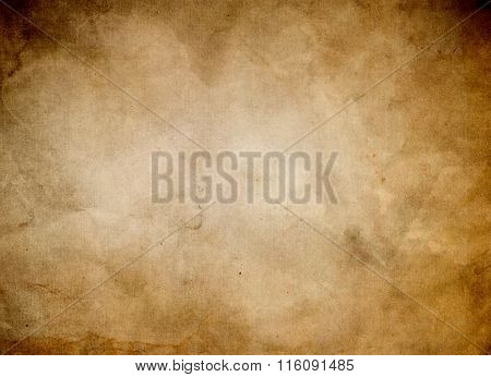 Grunge Styled Old Paper Background.