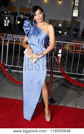 Rosario Dawson at the Los Angeles Premiere of