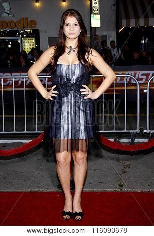 WESTWOOD, CALIFORNIA - October 26, 2010. Katelyn Pippy at the Los Angeles premiere of