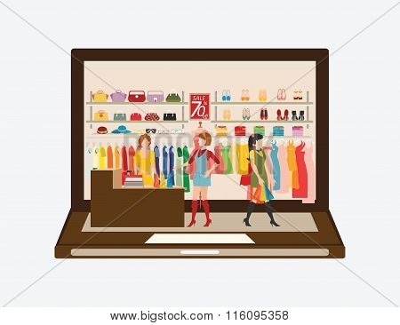 Online Fashion Store.