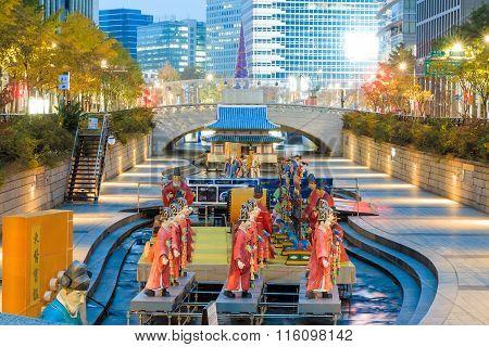 Seoul Lantern Festival 2014 At Cheonggye Stream