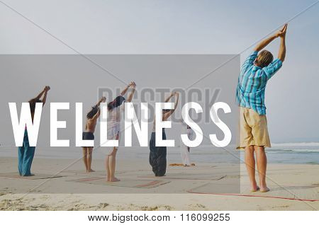 Wellbeing Wellness Energy Health Nutrition Therapy Concept